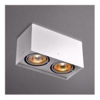 SQUARES 50X2 230V PHASE-CONTROL 45812-0000-U8-PH-01 ALU MAT LAMPA SUFITOWA AQUAFORM