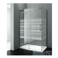 Dragon drzwi prysznicowe do wnęki 120cm x200cmlewe szkło canvas gd4912sl, marki Gelco