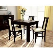 stół S-44 (80x120-165) + 4 krzesła BOSS XIV