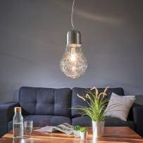 Lampa wisząca FUTURA w kształcie żarówki z kategorii Lampy sufitowe