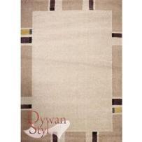Dywan alice geometryczny beżowy 160x230 prostokąt wyprodukowany przez Dywanstyl.pl