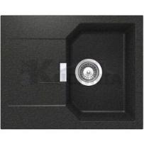 Zlewozmywak SCHOCK MANHATTAN D-100XS onyx (Cristalite+) ___zamów wycięcie otworów GRATIS___ z kategorii Zlewozmywaki