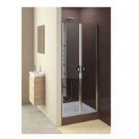 drzwi glass 5 90 wahadłowe, montaż we wnęce lub ze ścianką 103-06357, marki Aquaform