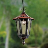 Lampa wisząca ANTOINE z miedzianym daszkiem