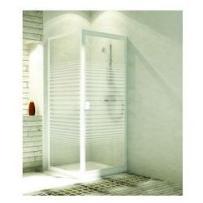AQUAFORM drzwi Elba 80 uchylne, montaż we wnęce lub ze ścianką 103-26507