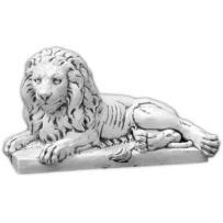 Figura ogrodowa betonowa lew 59cm 67_632