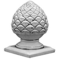 Dekoracja betonowa, szyszka z podstawą 43cm 67_449