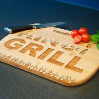MyGiftDna King of the Grill - deska do krojenia z grawerem