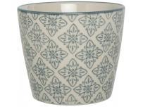 Ib Laursen Doniczka Casablanca ze wzorem kwiatowym - 1569-99-4