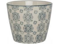 Ib Laursen Doniczka Casablanca ze wzorem kwiatowym - 1569-99-2