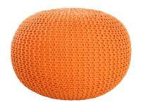 Invicta Interior Pufa Leeds pomarańczowa - i36315