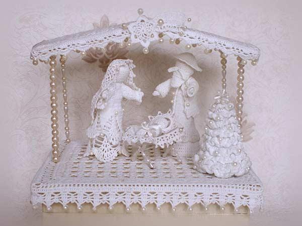 Crochet Patterns Nativity Scene : VERA E SUAS MANUALIDADES - Veraxangai: PRESEPIO EM CROCHE