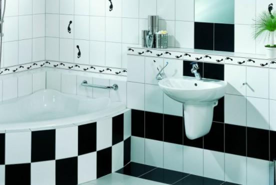 łazienka Czarno Biała A Fuga Zdjęcia Na Fotoforum