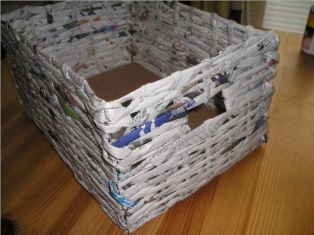 Сделать шкатулку из газет своими руками