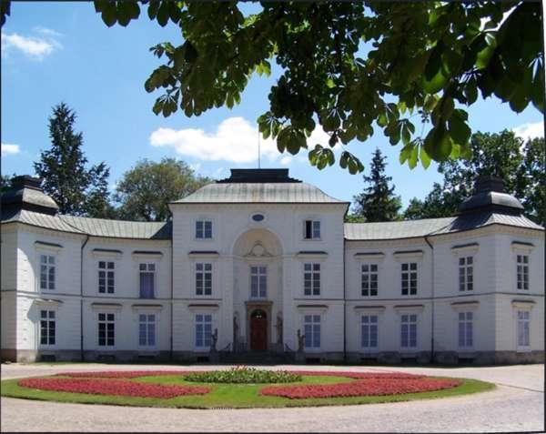 Pałac Myslewicki łazienki Królewskie Zdjęcia Na