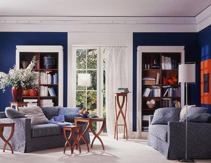 design : wohnzimmer wandfarbe blau ~ inspirierende bilder von ... - Wohnzimmer Schwarz Blau