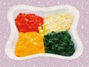 Kolorowe, ziemniaczane puree - gratka dla  niejadka