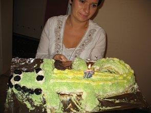 Ciasto Krokodylek