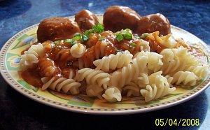 Kulki wieprzowe w sosie pomidorowym - ugotuj