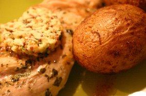Cytrynowy kurczak z musztardowym mas�em
