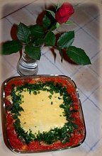 Lasagne z różą - ugotuj