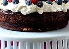 Ciasto czekoladowo-migda�owe