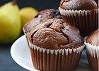 Muffinki czekoladowe z gruszk�