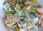 �ledzie z pancett� faszerowane pesto z pietruszki
