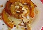 Dynia i jab�ka pieczone sk�pane w miodzie i p�atkach midga�owych