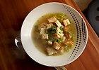Zupa porowo- czosnkowa