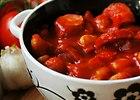 Prosta fasola po breto�sku w g�stym pomidorowym sosie - przepis blogera