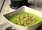 Zupa krem z zielonego groszku - przepis blogera