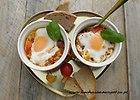 Zapiekane jajka z kurkami na �niadanie - przepis blogera