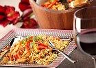 Risotto makaronowe z kurczakiem i warzywami