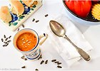 Zupa minestrone z pieczon� papryk� - przepis blogera