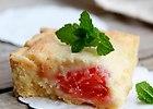 Krucha marcepanowa tarta z grejfrutem