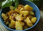 Aloo Gohi, czyli ziemniaki i kalafior w curry