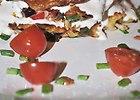 Placuszki warzywne z jogurtem greckim