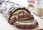 Rolada czekoladowa z kokosowym nadzieniem - przepis blogera
