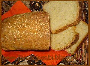 Chleb cytrynowy z sezamem