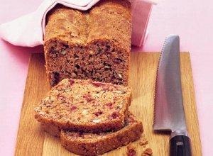 Pyszny dietetyczny chleb z �urawin� i orzechami