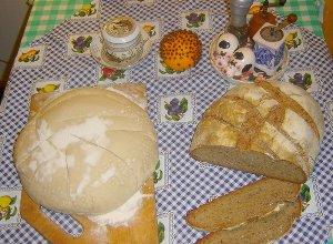 Chleb pszenno �ytni z ziemniakmi