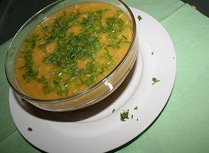 lekko pikantna kukurydziana zupa-krem - ugotuj