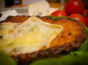 Placki ziemniaczane z serem ple�niowym
