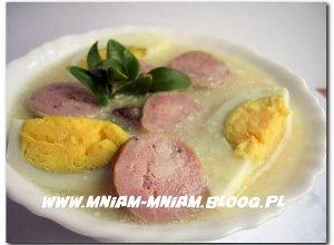 Zupa chrzanowa - ugotuj