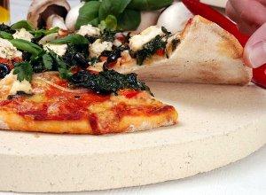 W�oska pizza pieczona na kamieniu - cienkie ciasto - ugotuj