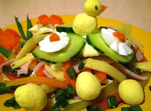 Sałatka warzywna - ugotuj