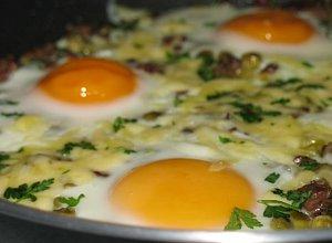 Jajka zapiekane z w�tr�bk�