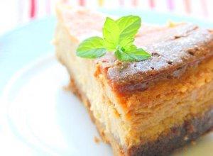 Ciasto serowo-dyniowe