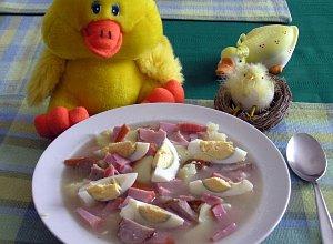 �urek z jajkiem i ziemniakami